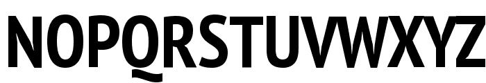 PT Sans Narrow Bold Font UPPERCASE