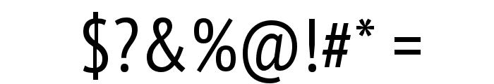 PT Sans Narrow Font OTHER CHARS