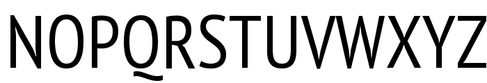 PT Sans Narrow Font UPPERCASE