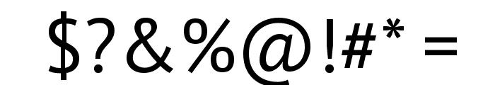 PT Sans Font OTHER CHARS