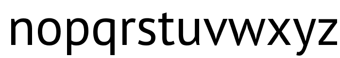 PT Sans Font LOWERCASE