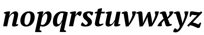 PT Serif Bold Italic Font LOWERCASE