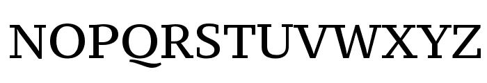 PT Serif Caption Font UPPERCASE
