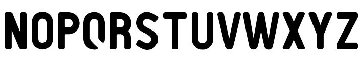 PTF NORDIC Rnd Font UPPERCASE