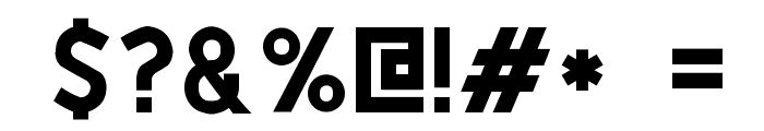 PTF NORDIC Std Font OTHER CHARS