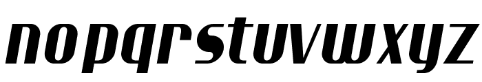 Ptarmigan Condensed Italic Font LOWERCASE