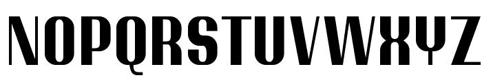 Ptarmigan Condensed Font UPPERCASE