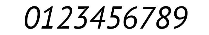 PT Sans Italic Font OTHER CHARS