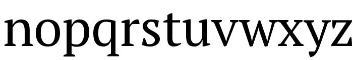 PT Serif Font LOWERCASE