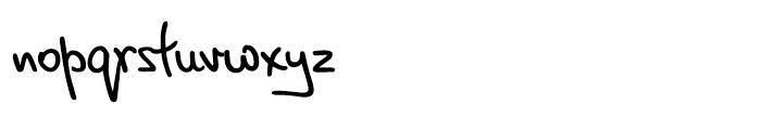 PT Script Breeze Regular Font LOWERCASE