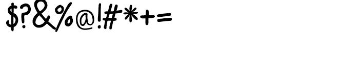 PT Script Eclipse Regular Font OTHER CHARS