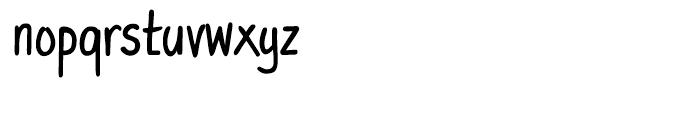 PT Script Eclipse Regular Font LOWERCASE