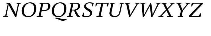 PT Serif Pro Extended Italic Font UPPERCASE