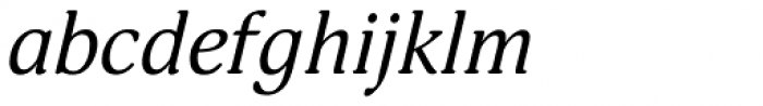 PT Adonis Italic Font LOWERCASE