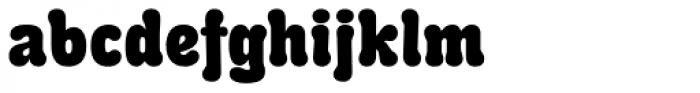 PT Karolla Black Font LOWERCASE