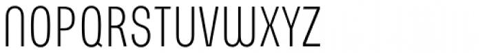 PT Parangon 210 ExtraCond Light Font UPPERCASE