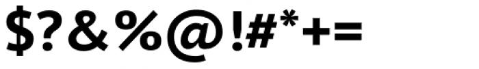 PT Sans Pro Caption Bold Font OTHER CHARS