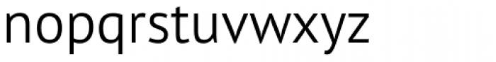 PT Sans Pro Light Font LOWERCASE