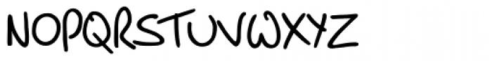 PT Script Breeze Font UPPERCASE