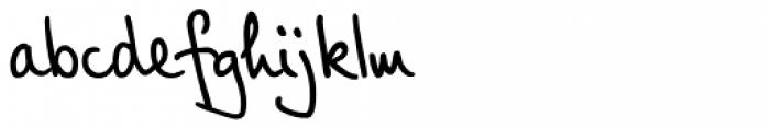 PT Script Breeze Font LOWERCASE