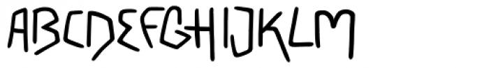 PT Script Earthquake Font UPPERCASE