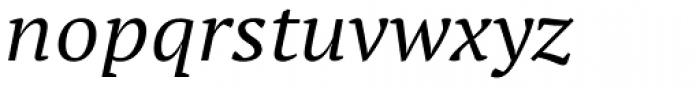 PT Serif Pro Extended Italic Font LOWERCASE