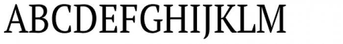 PT Serif Pro Narrow Book Font UPPERCASE