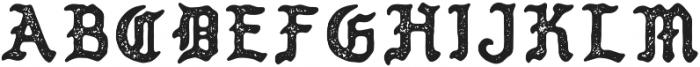PUEBLO BLACKLETTER Textured otf (900) Font UPPERCASE