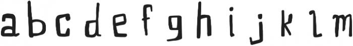 PUMPERNICKEL handwritten otf (400) Font LOWERCASE