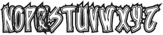 PUNG ttf (400) Font UPPERCASE