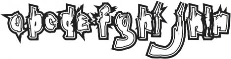 PUNG ttf (400) Font LOWERCASE