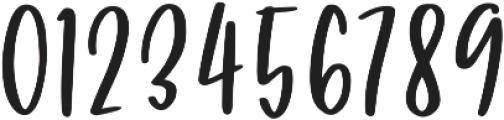 Puckery Tart otf (400) Font OTHER CHARS