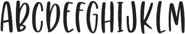 Puckery Tart otf (400) Font UPPERCASE
