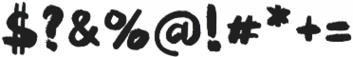 Puckipsy Regular otf (400) Font OTHER CHARS