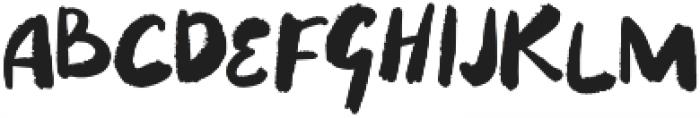 Puckipsy Regular otf (400) Font UPPERCASE