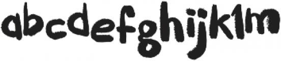 Puckipsy Regular otf (400) Font LOWERCASE