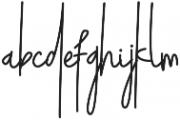 Pudding Regular otf (400) Font LOWERCASE