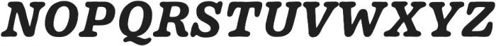 Pueblito Bold  Italic otf (700) Font UPPERCASE