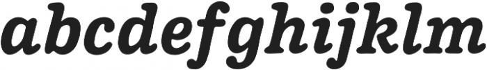 Pueblito Bold  Italic otf (700) Font LOWERCASE