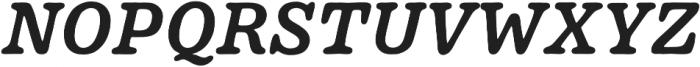 Pueblito Medium Italic otf (500) Font UPPERCASE