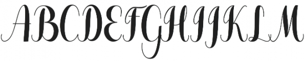 Pugsley otf (400) Font UPPERCASE
