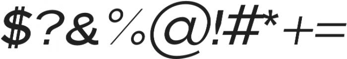 Pulse Regular Italic otf (400) Font OTHER CHARS