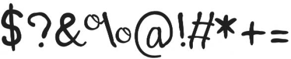 Pumpkin Mini otf (400) Font OTHER CHARS