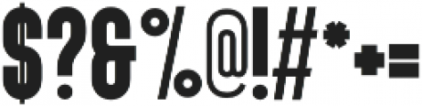 PunkRocker otf (400) Font OTHER CHARS