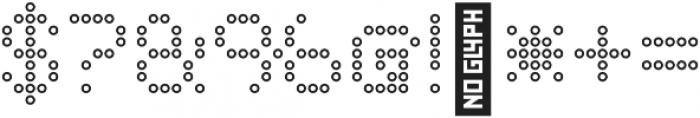 Punto Circle-Light-Outline otf (300) Font OTHER CHARS