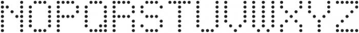 Punto Circle-Light-Regular otf (300) Font UPPERCASE