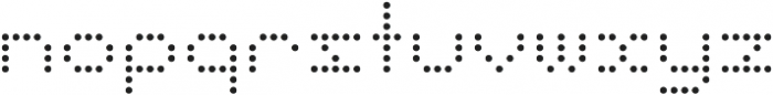 Punto Circle-Light-Regular otf (300) Font LOWERCASE