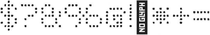 Punto Circle-Light-Rough otf (300) Font OTHER CHARS