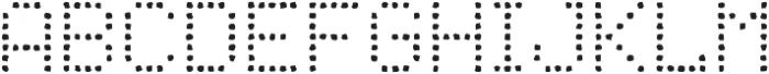 Punto Circle-Light-Rough otf (300) Font UPPERCASE