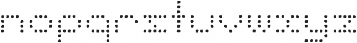 Punto Circle-Light-Rough otf (300) Font LOWERCASE
